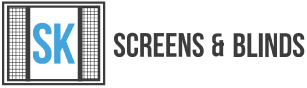 SK Screens & Blinds Logo